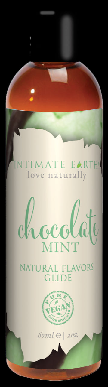 Intimate Earth Chocolate Mint Glide 2 Oz.
