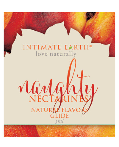 Intimate Earth Naughty Nectarines Glide Foil Pack 3ml