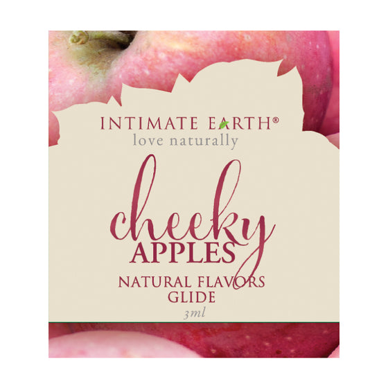 Intimate Earth Cheeky Apples Glide Foil Pack 3ml