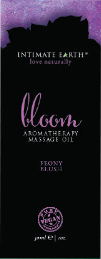 Intimate Earth Bloom Massage Oil Foil Sachet 1 Oz.