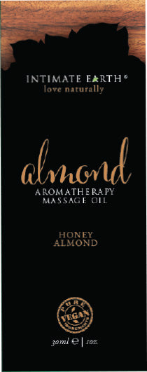 Intimate Earth Almond Massage Oil Foil Sachet 1 Oz.