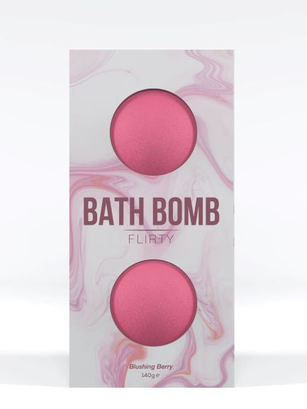 Dona Bath Bomb Flirty Blushing Berry 140g