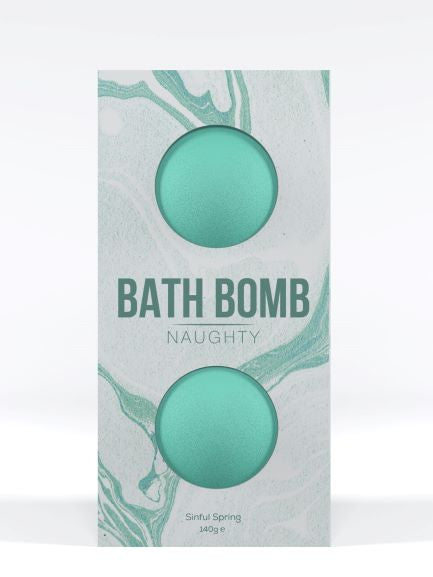 Dona Bath Bomb Naughty Sinful Spring 140g