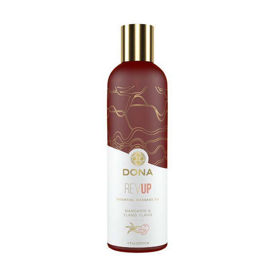 Dona Essential Massage Oil Rev Up - Mandarin & Ylang Ylang