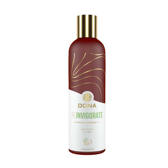 Dona Essential Massage Oil Reinvigorate - Coconut & Lime
