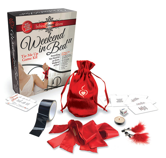 Behind Closed Doors Weekend In Bed All Tied Up Game Kit
