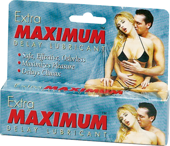 Extra Maximum Delay Lube Large 1.5 Oz.