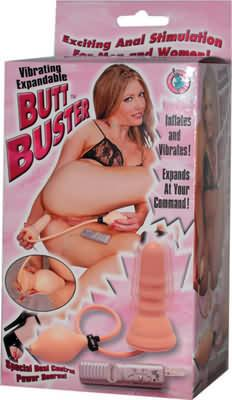 Expandable Vibrating Butt Buster