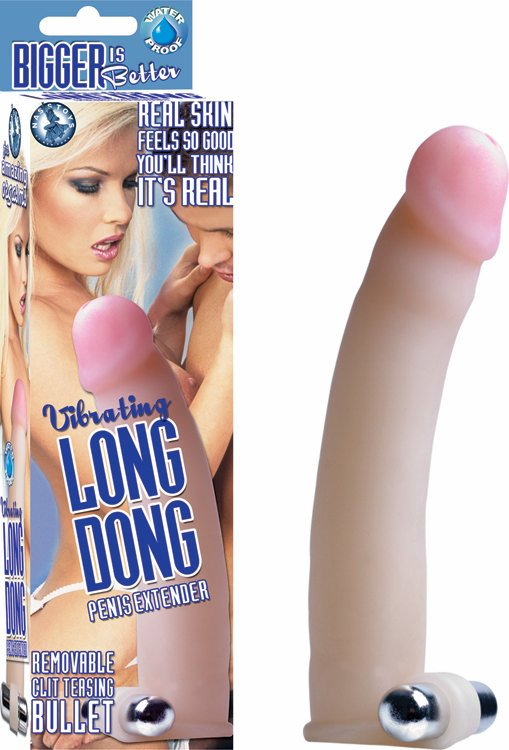 Long Dong Penis Extension Vibrating