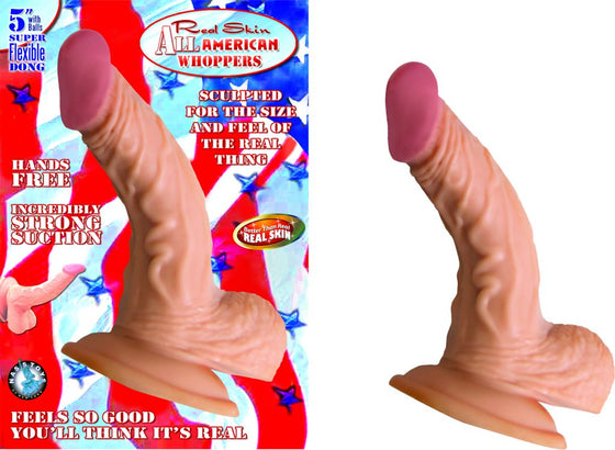 All American Whopper 5in WBalls Flesh
