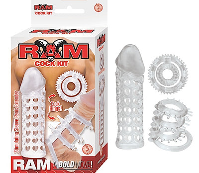Ram Cock Kit Clear