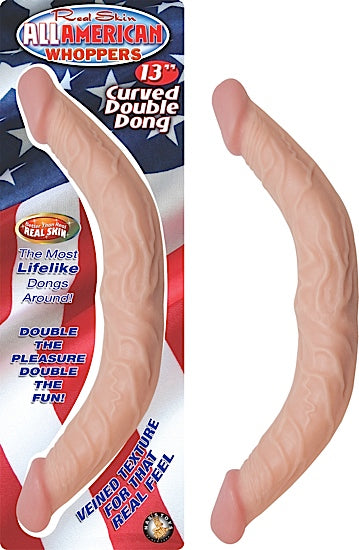 All American Whopper 13in Curved Double Dong