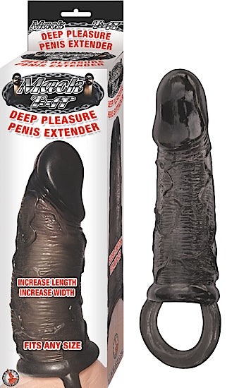 Mack Tuff Deep Pleasure Penis Extender Black