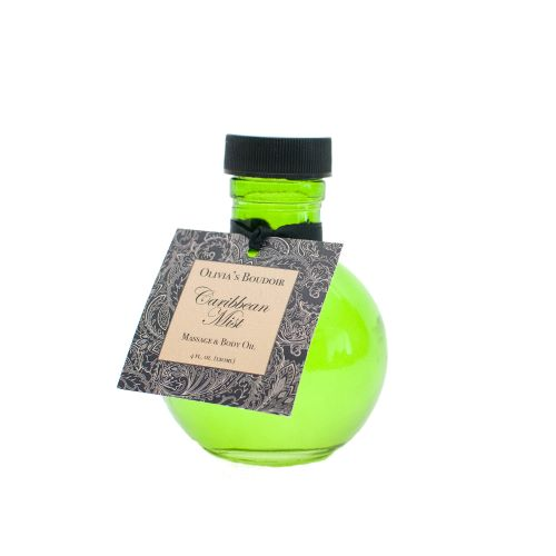 Massage Oil 4 Oz. Caribbean Mist