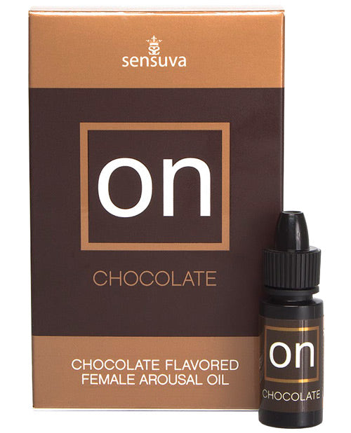 On Female Arousal Oil Chocolate 5ml Bottle