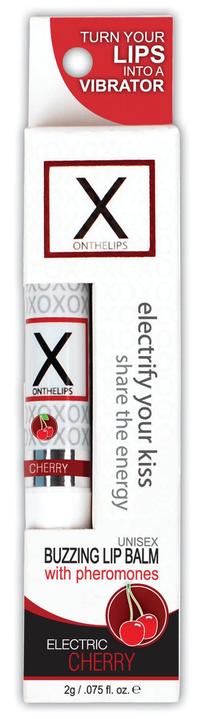 X On The Lips Electric Cherry