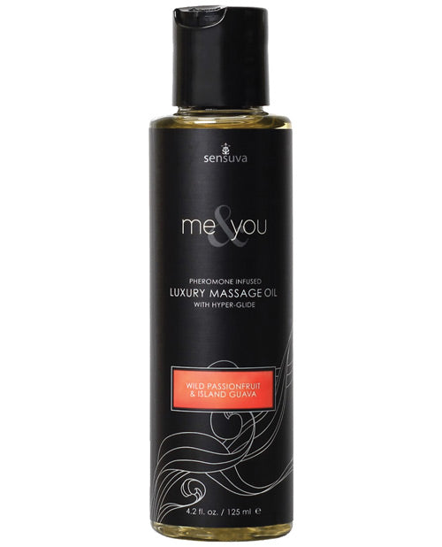 Me & You Massage Oil Passion Fruit 4.2 Oz.