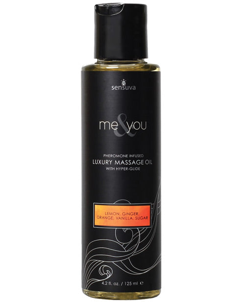 Me & You Massage Oil Sugar & Citrus 4.2 Oz.