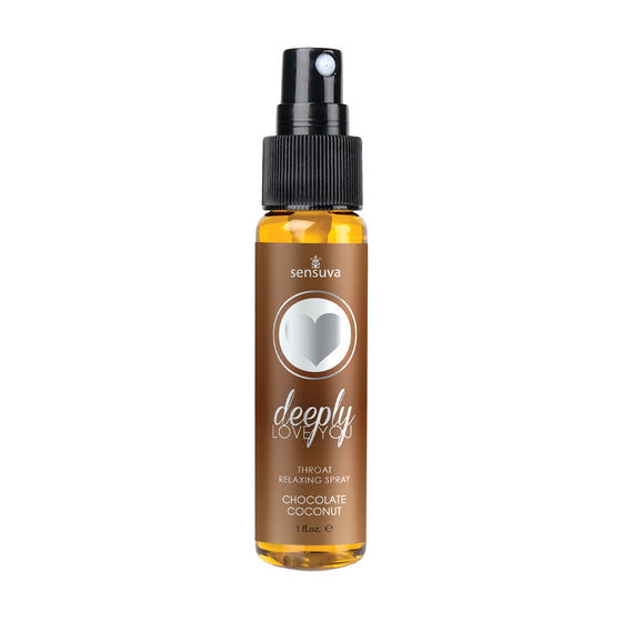 Deeply Love You Chocolate Coconut Throat Relaxing Spray 1 Oz.
