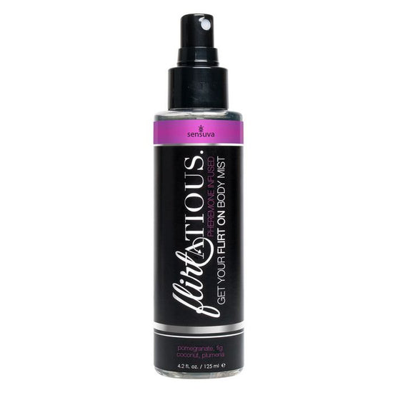 Flirtatious Body Mist Pomegranate Fig Coconut Plumeria 4.2 Oz.