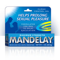 Mandelay Climax Control Gel 1 Oz.
