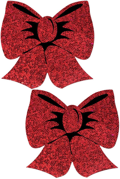 Pastease Holographic Red Bows