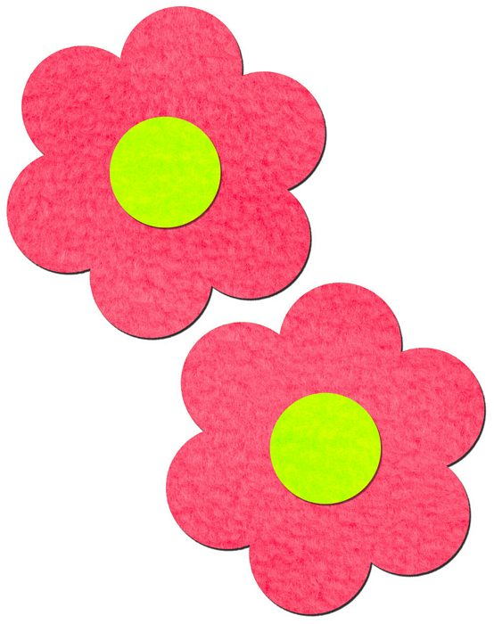 Pastease Daisy Neon Pink & Yellow