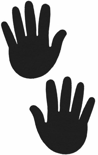 Pastease Hands Black Pashndbk - 5