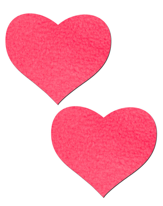 Pastease Heart Neon Pink