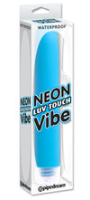 Neon Luv Touch Vibrator Blue