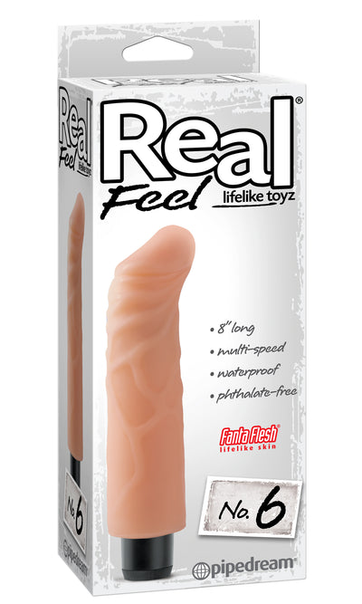 Real Feel Lifelike Toyz #6 Flesh
