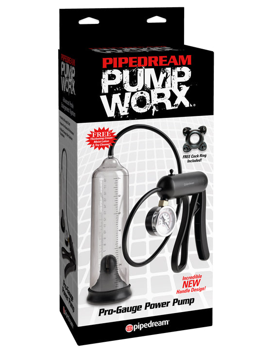 Pump Worx ProGauge Power Pump