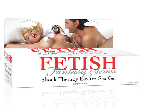 Fetish Fantasy Shock Therapy Electro Sex Gel 4 Oz.