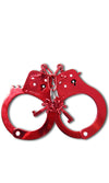 Fetish Fantasy Anodized Cuffs Red