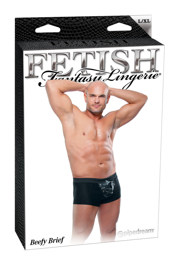 Fetish Fantasy Male Beefy Brief (Large/X-Large)