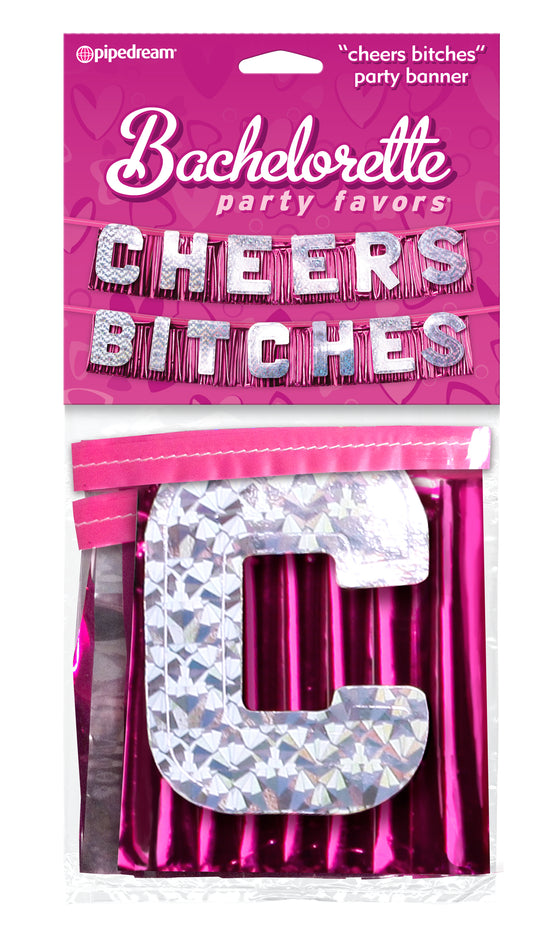 Bachelorette Incheers Bitchesin Party Banner