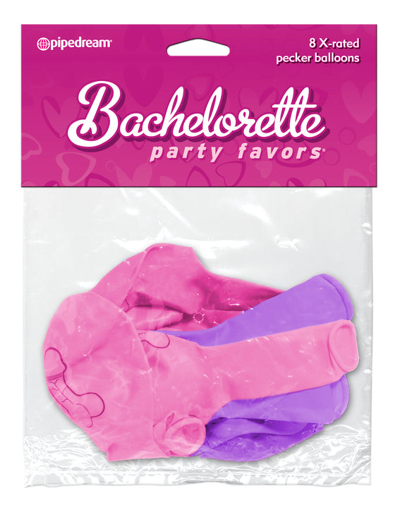 Bachelorette X - Rated Pecker Balloons