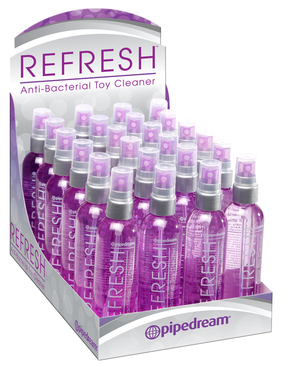 Refresh Display 24 Pieces Toy Cleaner 4 Oz.