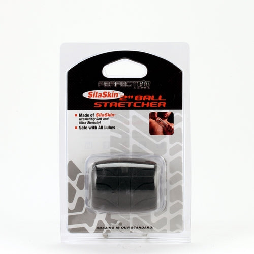 Perfect Fit Silaskin Ball Stretcher 2in Black
