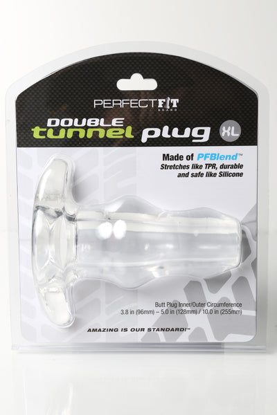 DTunnel Plug X Large Ice Clear