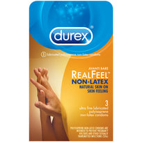 Durex Avanti Bare Real Feel Non Latex 3pk