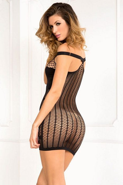 Big Spender Dress Black ML