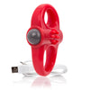 Screaming O Charged Yoga Vooom Mini Vibrator Red