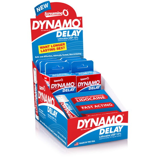 Dynamo Delay Spray 6pk Pop Box