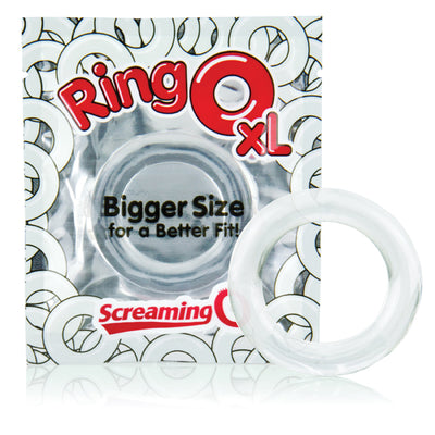 Ring O XL 18 Pieces Clear