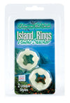 Island Rings Double Stackers - Glow