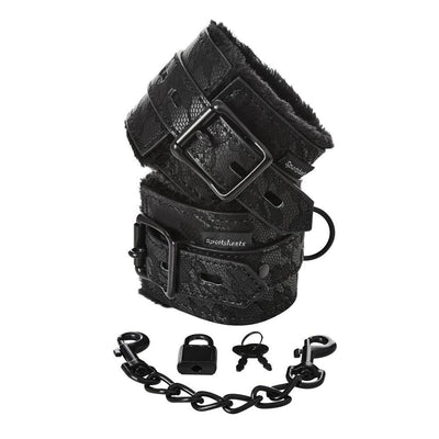 Sincerely Lace Fur Lined Hand Cuffs