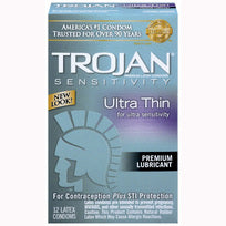 Trojan Ultra Thin 12 Pack