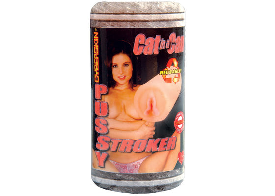 Cat In a Can Cyberskin Pussy Stroker