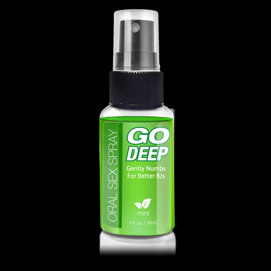 Go Deep Oral Sex Spray Mint 1 Oz.